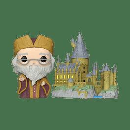 POP! Town: Harry Potter - Albus Dumbledore with Hogwarts