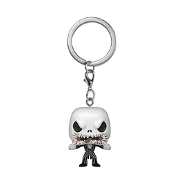 Porta-chaves Pocket POP! Disney: The Nightmare Before Christmas - Jack Skellington