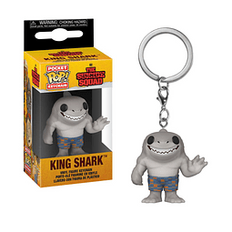 Porta-chaves Pocket POP! The Suicide Squad: King Shark