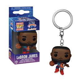 Porta-chaves Pocket POP! Space Jam A New Legacy: LeBron James