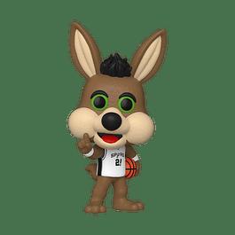 POP! NBA Mascots: San Antonio Spurs - The Coyote