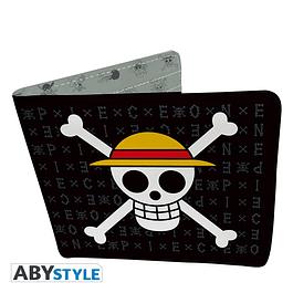Carteira One Piece Skull Luffy