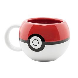 Caneca 3D Pokémon Poké Ball