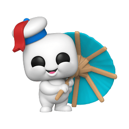 POP! Movies: Ghostbusters Afterlife - Mini Puft (with Cocktail Umbrella)
