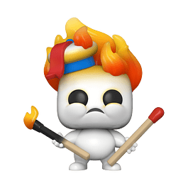 POP! Movies: Ghostbusters Afterlife - Mini Puft (on Fire)