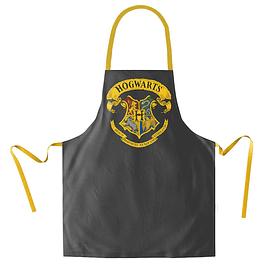 Avental Harry Potter Hogwarts Logo Black