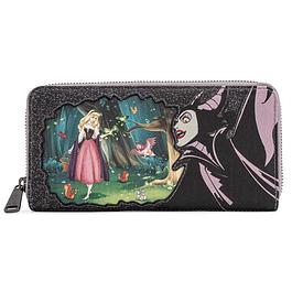 Carteira Loungefly Disney Maleficent & Sleeping Beauty