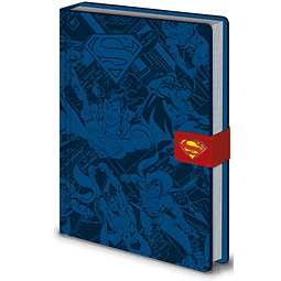 Notebook A5 Premium Superman