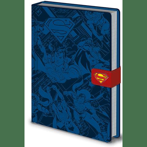 Notebook A5 Premium Superman