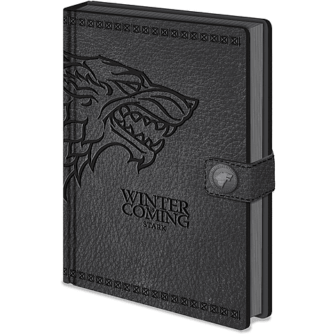 Notebook A5 Premium Game of Thrones Stark