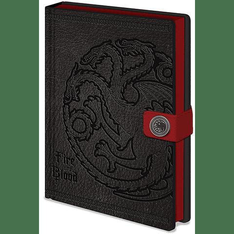 Notebook A5 Premium Game of Thrones Targaryen