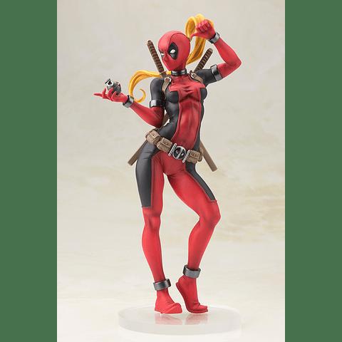 Estátua Bishoujo Lady Deadpool