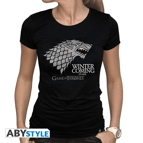 """T-shirt Game of Thrones """"Winter is Coming"""""""