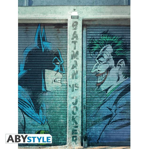 Tela Batman vs Joker