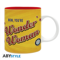Caneca Wonder Woman Mom