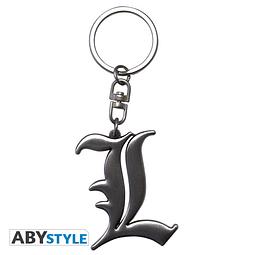 Porta-chaves Death Note L Symbol 3D