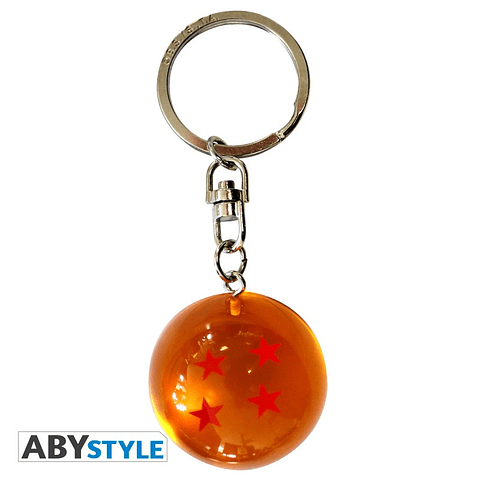 Porta-chaves Dragon Ball Bola de Cristal 3D