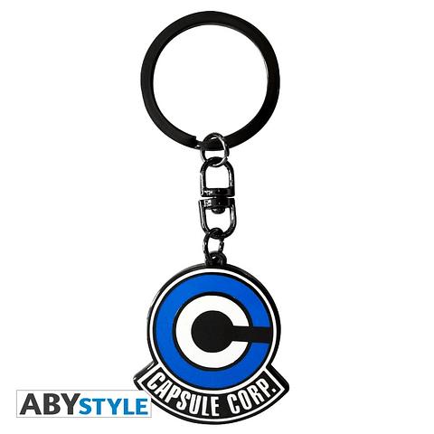 Porta-chaves Dragon Ball Capsule Corp Logo