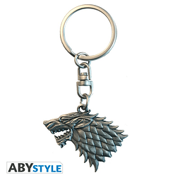 Porta-chaves Game of Thrones Stark 3D