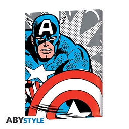 Tela Captain America Pop Art