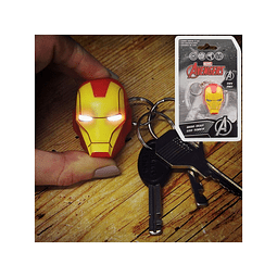 Porta-chaves Iron Man LED Torch