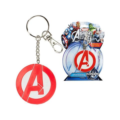 Porta-chaves Marvel The Avengers Logo Flexível