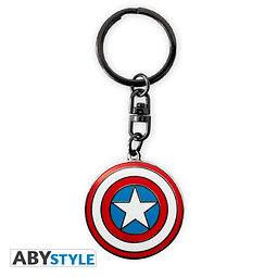 Porta-chaves Marvel Captain America Escudo