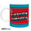 Caneca Captain America Vintage