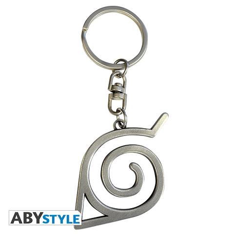 Porta-chaves Naruto Shippuden Konoha Symbol 3D