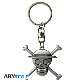 Porta-chaves One Piece Luffy Symbol 3D