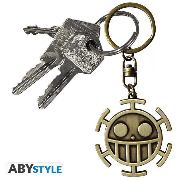 Porta-chaves One Piece Trafalgar Law Symbol 3D