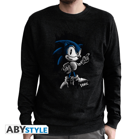 Sweatshirt Sonic Vintage
