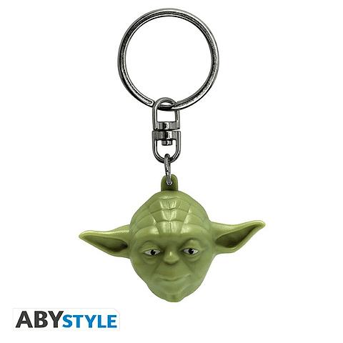 Porta-chaves Star Wars Mestre Yoda 3D