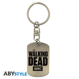 Porta-chaves The Walking Dead Dog Tag Logo
