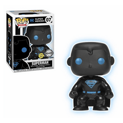 POP! Heroes: Superman Glow in the Dark Edição Limitada