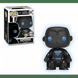POP! Heroes: Superman Glow in the Dark Edição Limitada