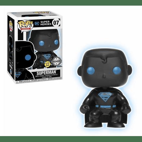 POP! Heroes: Superman GITD Edição Exclusiva