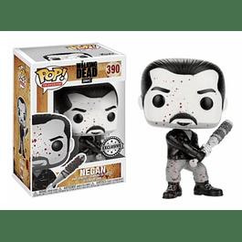 POP! TV: The Walking Dead Negan Black and White Edição Limitada