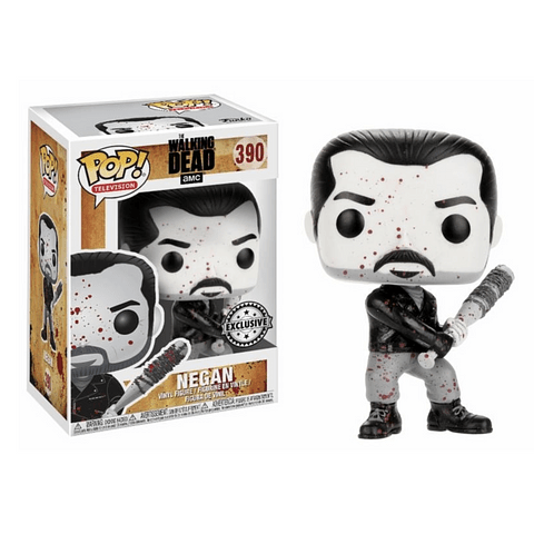 POP! TV: The Walking Dead Negan Black and White Edição Limitada