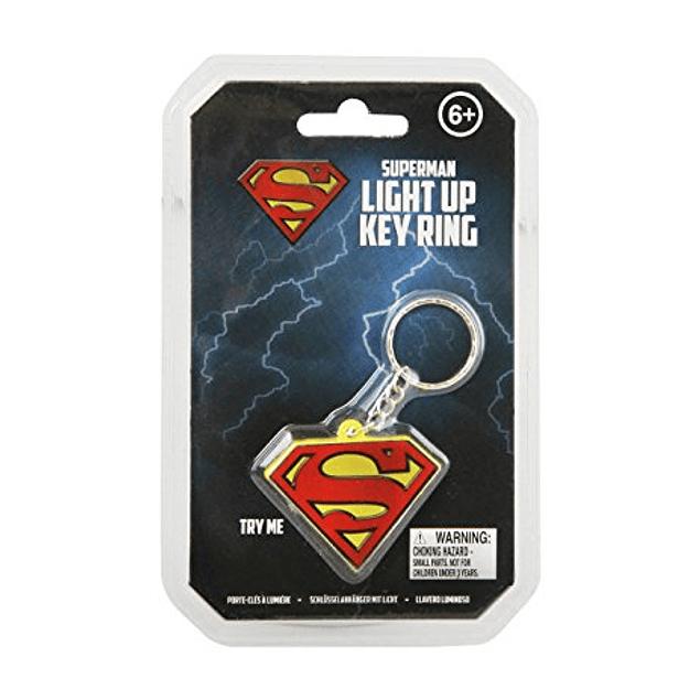 Porta-chaves Superman Logo Light Up