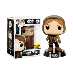 POP! Star Wars Rogue One: Jyn Erso Edição Limitada