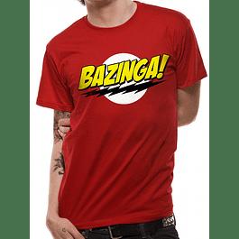 T-shirt The Big Bang Theory Bazinga
