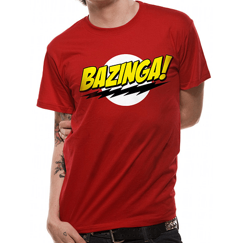 T-shirt The Big Bang Theory Bazinga