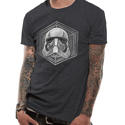 T-shirt Star Wars Captain Phasma Badge