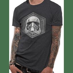 T-shirt Star Wars Captain Phasma Badge