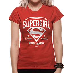 "T-shirt Supergirl ""Better Than Ever"""