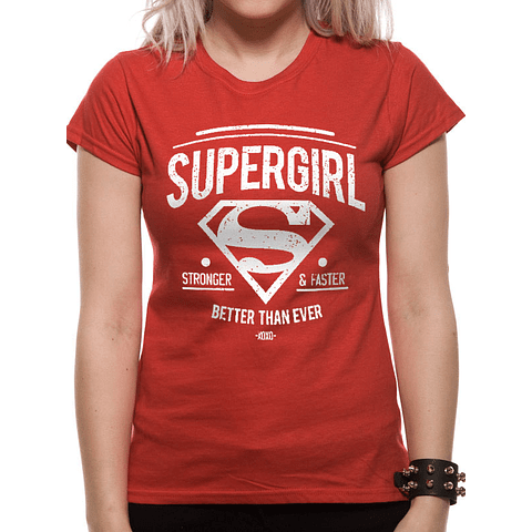 "T-shirt Supergirl ""Better Than Ever"""