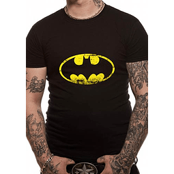 T-shirt Batman Logo Distressed