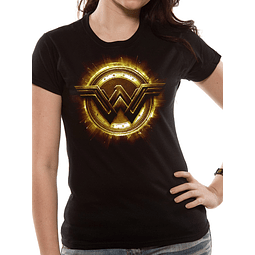 T-shirt JL Wonder Woman Logo