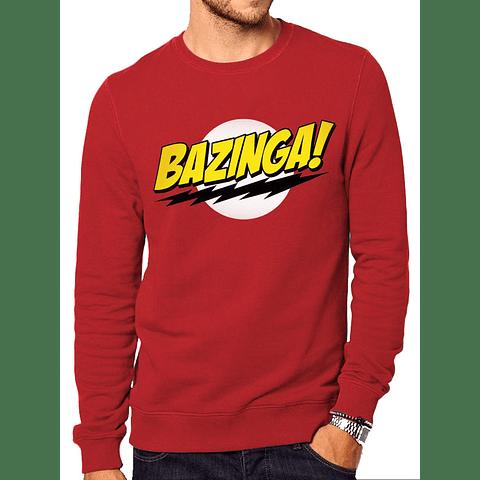 Sweatshirt The Big Bang Theory Bazinga